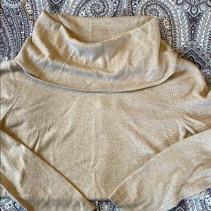 Loft Cowl Neck Sweater Medium